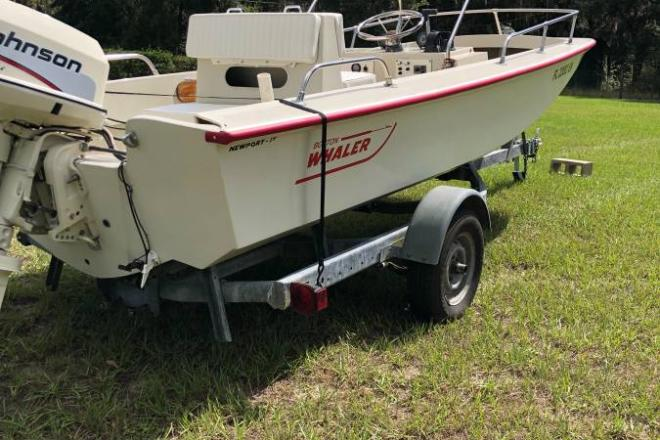 1982 Boston Whaler Newport 17 - For Sale at Hawthorne, FL 32640 - ID 180315