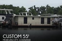 "1985 Custom Built 55"" Home Made Custom Houseboat"