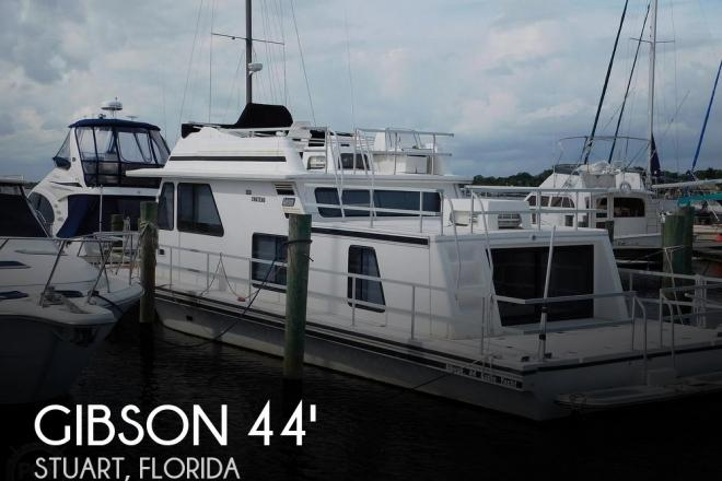 1999 Gibson 44 Cabin Yacht - For Sale at Stuart, FL 34994 - ID 180189