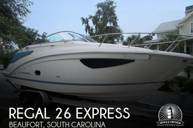 2018 Regal 26 Express - For Sale at Beaufort, SC 29902 - ID 173583