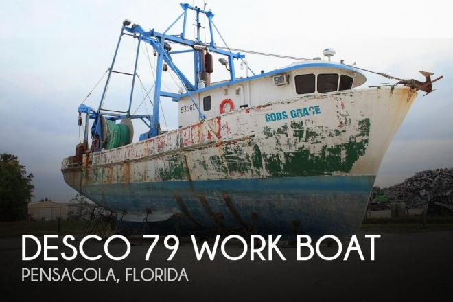 1971 Desco 79 Work Boat - For Sale at Pensacola, FL 32505 - ID 145477