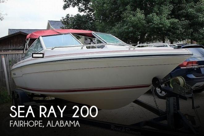 1989 Sea Ray 200 Bowrider - For Sale at Fairhope, AL 36532 - ID 163103