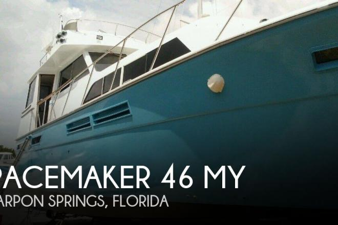1978 Pacemaker 46 MY - For Sale at Tampa, FL 33689 - ID 156961