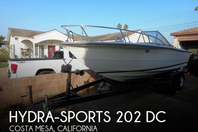 1987 Hydra Sports 202 DC - For Sale at Costa Mesa, CA 92627 - ID 158426
