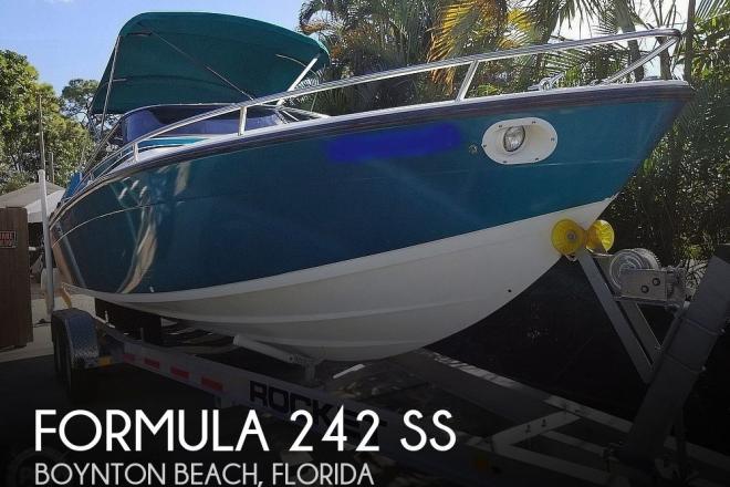 1989 Formula 242 SS - For Sale at Boynton Beach, FL 33426 - ID 180830