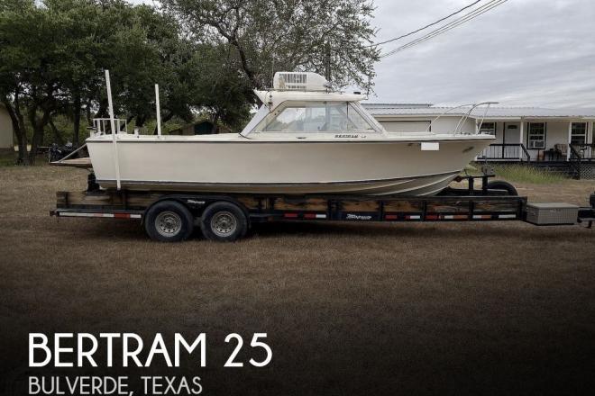 1967 Bertram 25 - For Sale at Bulverde, TX 78163 - ID 178954