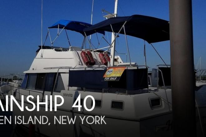 1986 Mainship 40 - For Sale at Staten Island, NY 10301 - ID 157425