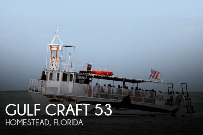 1985 Gulf Craft 53 - For Sale at Homestead, FL 33031 - ID 141601