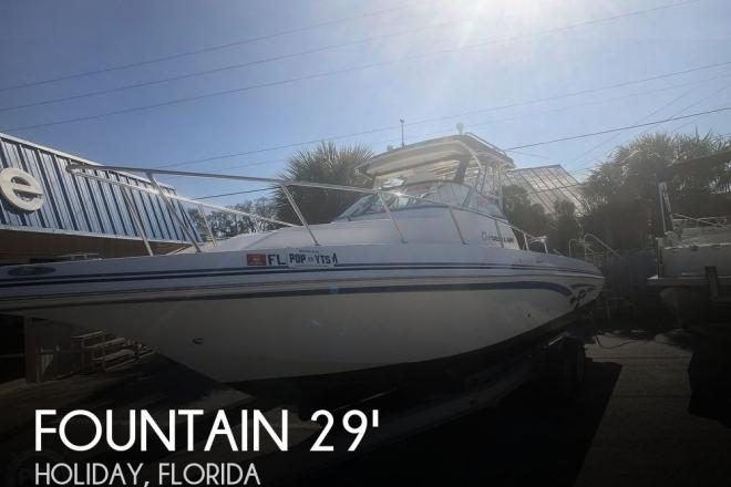 2005 Fountain Sportfish 29' - For Sale at New Port Richey, FL 34652 - ID 180709