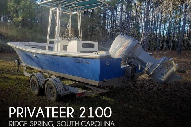 1986 Privateer 2100 ROAMER II - For Sale at Ridge Spring, SC 29129 - ID 181669
