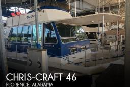 1984 Chris Craft 46 Aqua Home