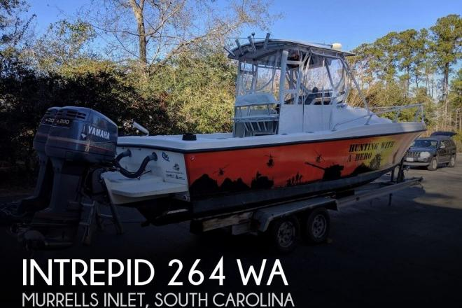 1988 Intrepid 264 WA - For Sale at Murrells Inlet, SC 29576 - ID 156839