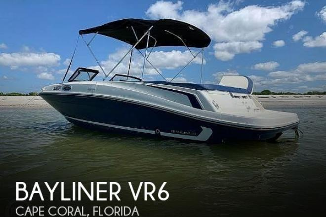 2016 Bayliner VR6 - For Sale at Cape Coral, FL 33904 - ID 182213