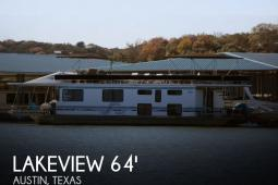 1999 Lakeview 16' x 64' Houseboat
