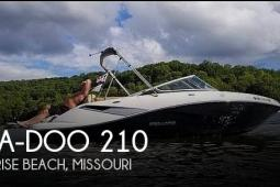 2010 Sea Doo 210 Challenger SE