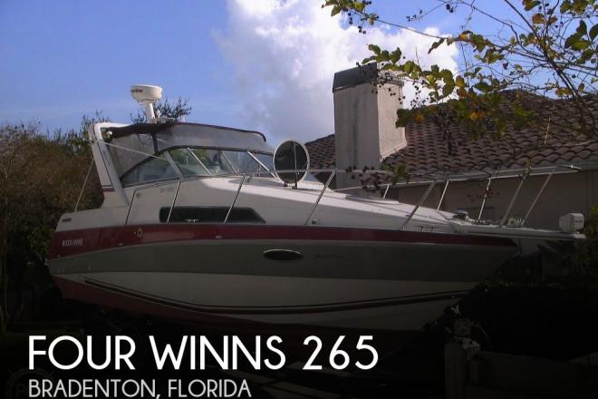 1991 Four Winns 265 Vista - For Sale at Bradenton, FL 34209 - ID 182269