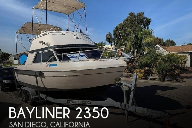 1977 Bayliner 2350 Nisqually - For Sale at San Diego, CA 92123 - ID 182505