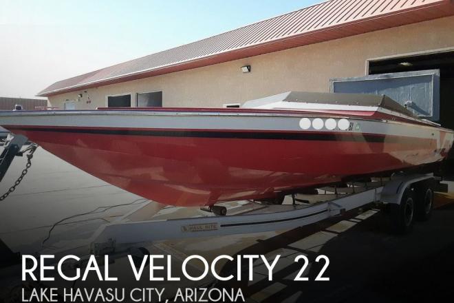 1987 Regal Velocity 22 - For Sale at Lake Havasu City, AZ 86406 - ID 169968