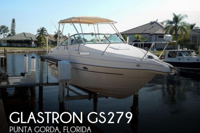 2004 Glastron Gs279 - For Sale at Punta Gorda, FL 33950 - ID 182732