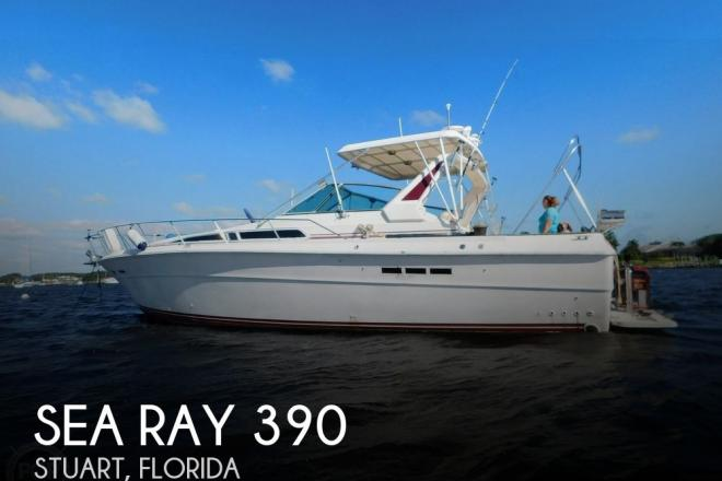 1985 Sea Ray 390 Express Cruiser - For Sale at Stuart, FL 34997 - ID 182691