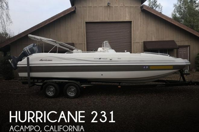 2014 Hurricane 231 Sundeck Sport - For Sale at Acampo, CA 95220 - ID 183014