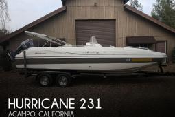 2014 Hurricane 231 Sundeck Sport