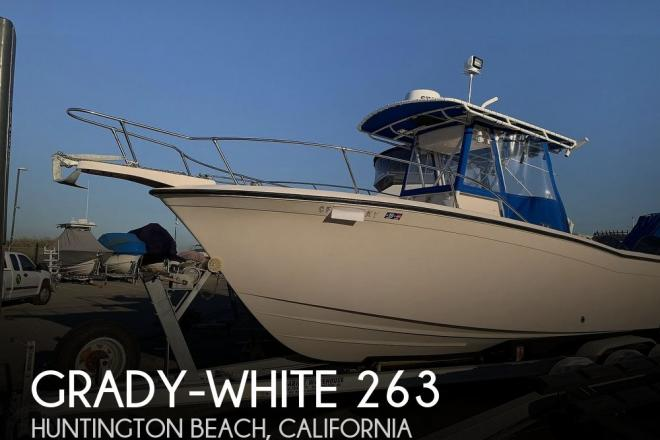1998 Grady White 263 Chase - For Sale at Huntington Beach, CA 92649 - ID 182859