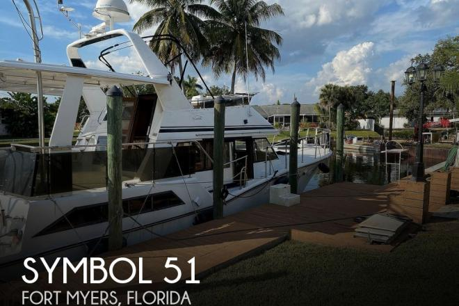 1987 Symbol 51 Yacht Fish - For Sale at Fort Myers, FL 33905 - ID 101942