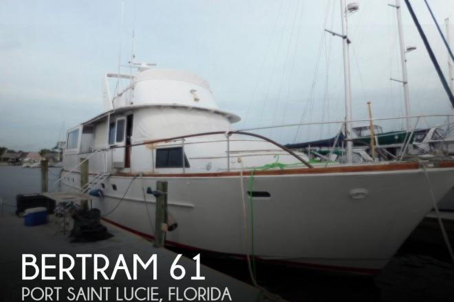 1970 Bertram 61 - For Sale at Port Saint Lucie, FL 34952 - ID 183887