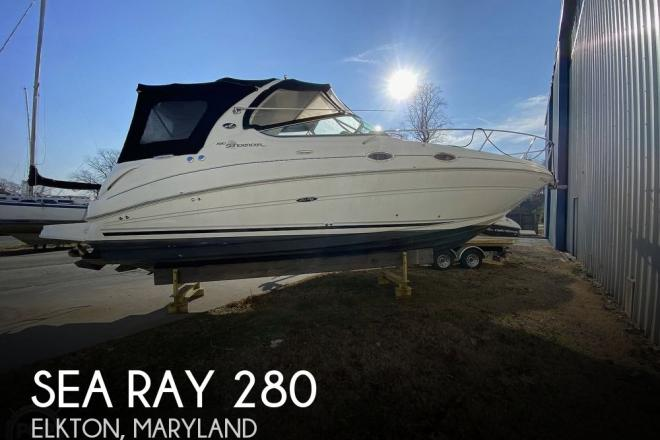 2007 Sea Ray 280 Sundancer - For Sale at Baltimore, MD 21224 - ID 183717