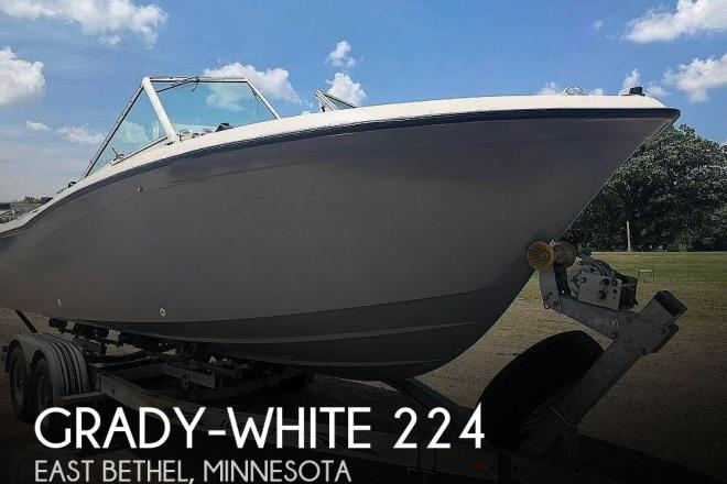 1984 Grady White 224 TOURNAMENT - For Sale at Cedar, MN 55011 - ID 184447