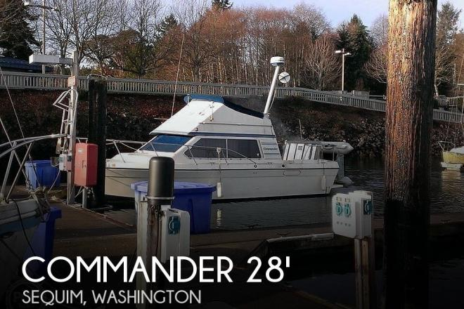 1988 Commander Sport Fisherman - For Sale at Sequim, WA 98382 - ID 184679