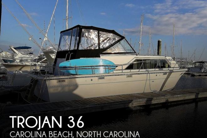 1972 Trojan F-36 Tri Cabin - For Sale at Carolina Beach, NC 28428 - ID 184402