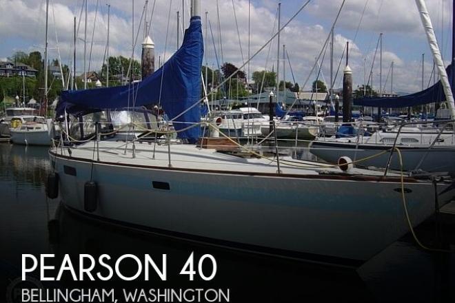 1980 Pearson 40 - For Sale at Hamilton, WA 98255 - ID 184988