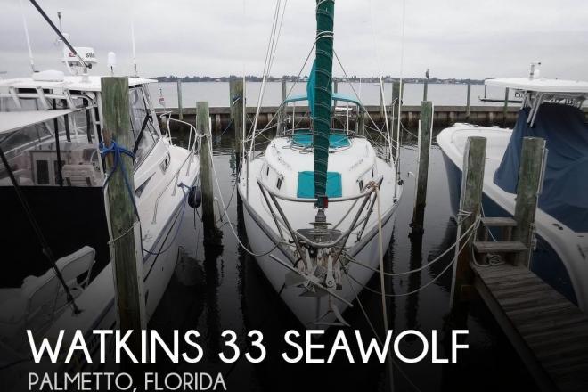 1988 Watkins 33 Seawolf - For Sale at Palmetto, FL 34221 - ID 184322