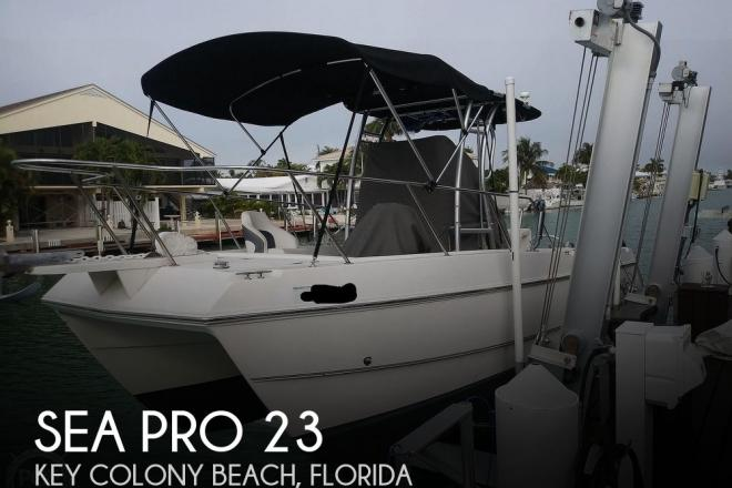 2002 Sea Pro Sportcraft SCC 235 - For Sale at Key Colony Beach, FL 33051 - ID 184827