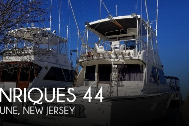 1985 Henriques 44 Sportfish - For Sale at Neptune, NJ 7754 - ID 185083