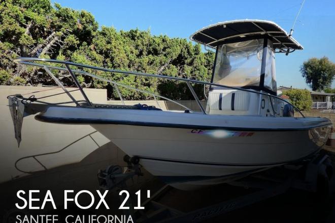 2002 Sea Fox 217 Center Console - For Sale at Santee, CA 92071 - ID 184684