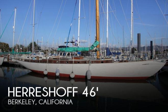 1937 Herreshoff John G Alden Bermudan Yawl - For Sale at Berkeley, CA 94710 - ID 184832