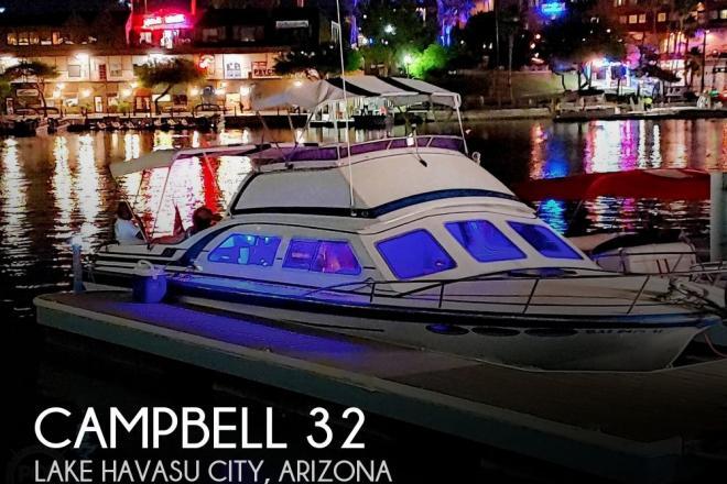 1985 Campbell 32 - For Sale at Lake Havasu City, AZ 86404 - ID 182863