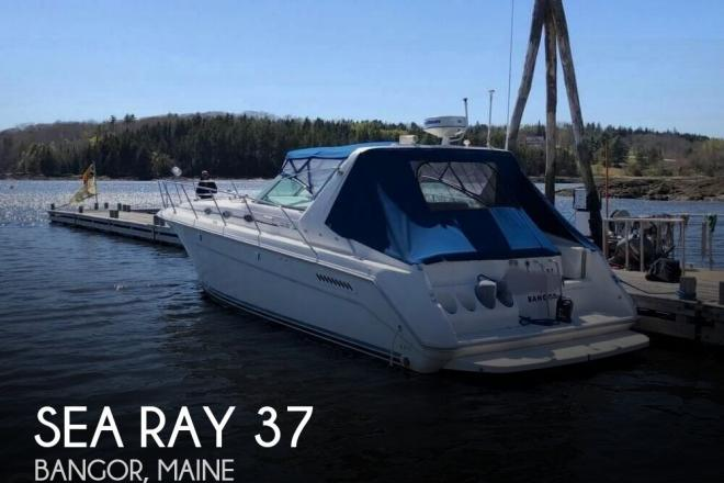 1994 Sea Ray 37 Express Cruiser - For Sale at Castine, ME 4420 - ID 158539
