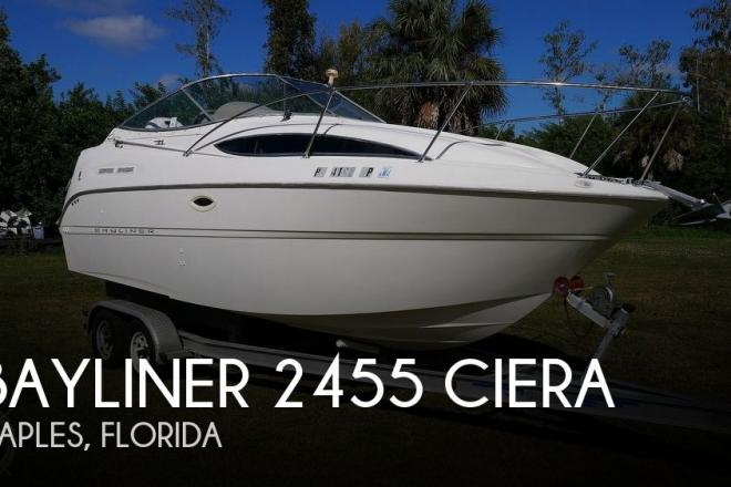 2000 Bayliner 2455 Ciera - For Sale at Naples, FL 34114 - ID 102034