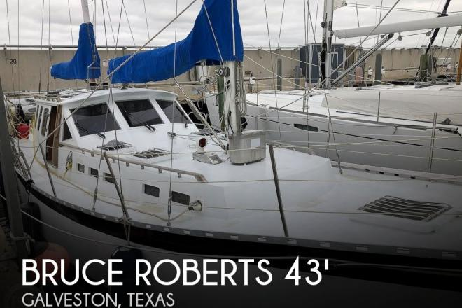 1997 Bruce Roberts Flanders K402 Motor Sailer - For Sale at Galveston, TX 77550 - ID 185835