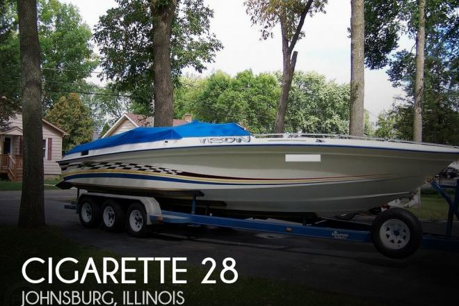 1978 Cigarette 28 SS - For Sale at McHenry, IL 60051 - ID 185593