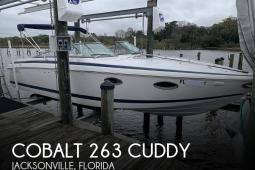 2003 Cobalt 263 Cuddy