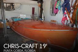 1950 Chris Craft Racing Runabout