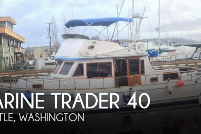 1981 Marine Trader LaBelle 40 - For Sale at Seattle, WA 98102 - ID 185294