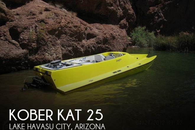 2002 Kober Kat 25 - For Sale at Lake Havasu City, AZ 86404 - ID 186344
