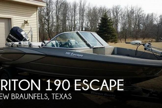 2011 Triton 190 Escape - For Sale at New Braunfels, TX 78130 - ID 186350