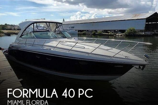 2009 Formula 37 PC - For Sale at Miami, FL 33125 - ID 186357
